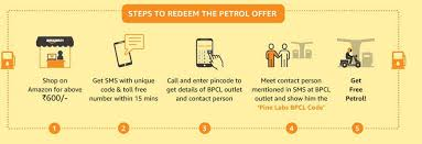 amazon outlet shop discounts and amazon petrol voucher offer shop for rs 600 and get rs 150 bpcl