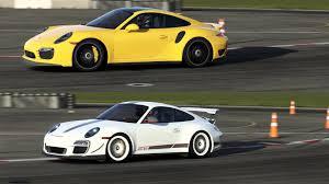 vs porsche 911 turbo porsche 911 turbo s vs 911 gt3 top gear track