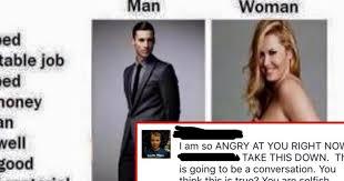 Sexist Meme - mom publicly shames son for posting sexist meme attn