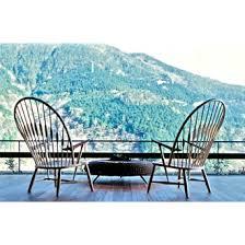Hans J Wegner Pp550 The Peacock Chair Design Pinterest