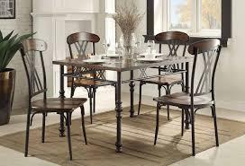 homelegance loyalton dining set wood metal 5149 dining set