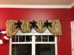 Primitive Kitchen Curtains Attractive Primitive Burlap Curtains Decor With Primitive Burlap