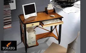 bureau ordinateur bois meuble ordinateur bureaux et tables decofinder