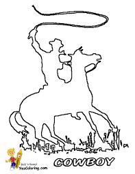 ride u0027em cowboy coloring free coloring kids westerns