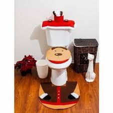 Imperial Home Decor Christmas Bath Linens Imperial Home Christmas Reindeer Bathroom 4