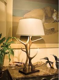 awesome deer antler table lamps using deer antler table lamps