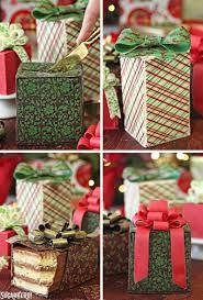 chocolate wrapped present cakes sugarhero