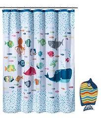 circo fish shower curtain and bath rug set new house jack u0027s