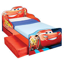 disney character toddler junior beds with storage 3 mattress