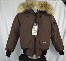 chilliwack bomber c 1 6 nwt authentic canada goose s brown chilliwack bomber jacket
