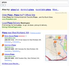 Round Table Pizza Richland Yahoo Showing Local Results On Non Local Queries