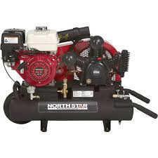 free shipping u2014 northstar gas powered air compressor u2014 honda gx270