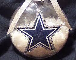 dallas cowboys ornament etsy