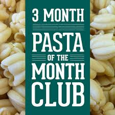 Food Of The Month Club Pasta Of The Month Club Sfoglini