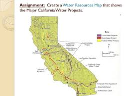 california map project california s water resources ppt