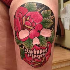 33 best floral and skull tattoo designs images on pinterest draw