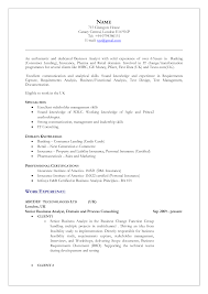 Bank Resume Samples by Academic Resume Format