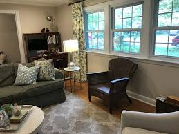 Pair Of Chairs For Living Room by Before After A Fresh Take On A Living Room 1970 Dogwood Street
