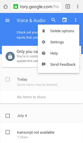 google stores your voice search history u2014here u0027s how to delete