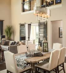 Austin Double Barn Doors Dining Room Transitional With Open - Transitional dining room chairs