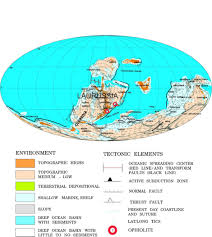 Map Of Tectonic Plates Plate Tectonic Evolution Of The Southern Margin Of Laurussia In