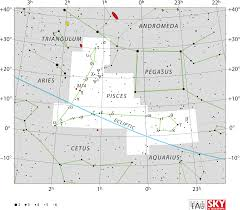 Map Of The Stars Los Angeles by Pisces Constellation Wikipedia