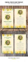 Funeral Card Template 144 Best Invitation Card Templates Images On Pinterest Card