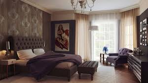 bedroom luxurious master bedroom design with fabulous wall art