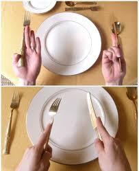 Rules Of Civility Table Etiquette Guide To Informal by Fork And Spoon Usage All About Spooning