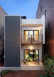 modern home design narrow lot narrow lot modern house plans