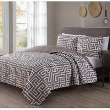 Taupe Coverlet Bed Size King S L Home Fashions Quilts U0026 Coverlets Sears