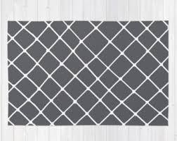 gray rug etsy