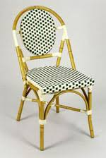 Wicker Bistro Chairs Cafe Bistro Rattan Chairs Parisian Chairs