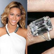 Beyonce Wedding Ring by Celebrity Engagement Rings Colonial Jewelers