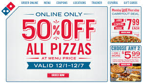 jobs at domino s pizza 50 off online order dominos coupons news and reviews fastfoodwatch com