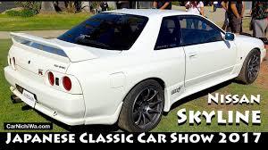 classic skyline nissan skyline 2017 japanese classic car show jccs carnichiwa