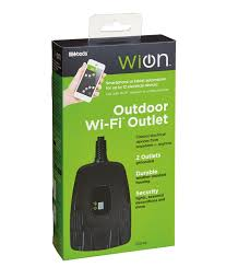 wion wi fi switch outdoor light control wion products