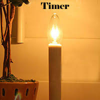 Battery Operated Candles Electric Window Candles