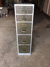 Vintage Industrial File Cabinet Vintage Industrial Steampunk Filing Cabinet 52 X 27 X 14 Made By