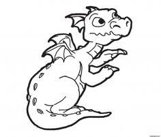 Dragon Coloring Pages Kleurplaat Dragons Baby