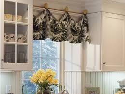 swag kitchen curtains modern valances for living room modern