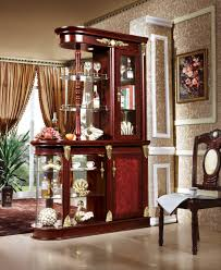 living room furniture partition luxury wooden living room cabinet