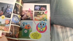world book yearbook amazing world of gumball yearbook review