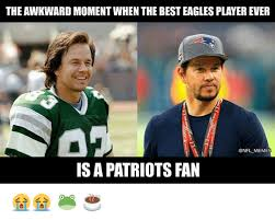 Philadelphia Eagle Memes - the awkward moment when the best eagles player ever meme is a