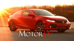new 2017 honda civic si coupe l beauty shots l driving scenes