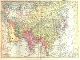Sw Asia Map by Historical Map Of Asia Asia In Year 1914 Nations Online Project