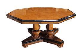 viyet designer furniture tables antique octagonal dining table