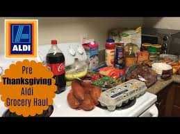 41 weekly aldi grocery haul pre thanksgiving shopping