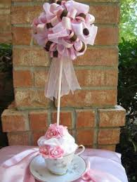 How To Make Ribbon Topiary Centerpieces by One Preppy Cookie Tutorial How To Make A Ribbon Topiary Do It