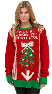 christmas sweaters the mistletoe sweater christmas sweater mens